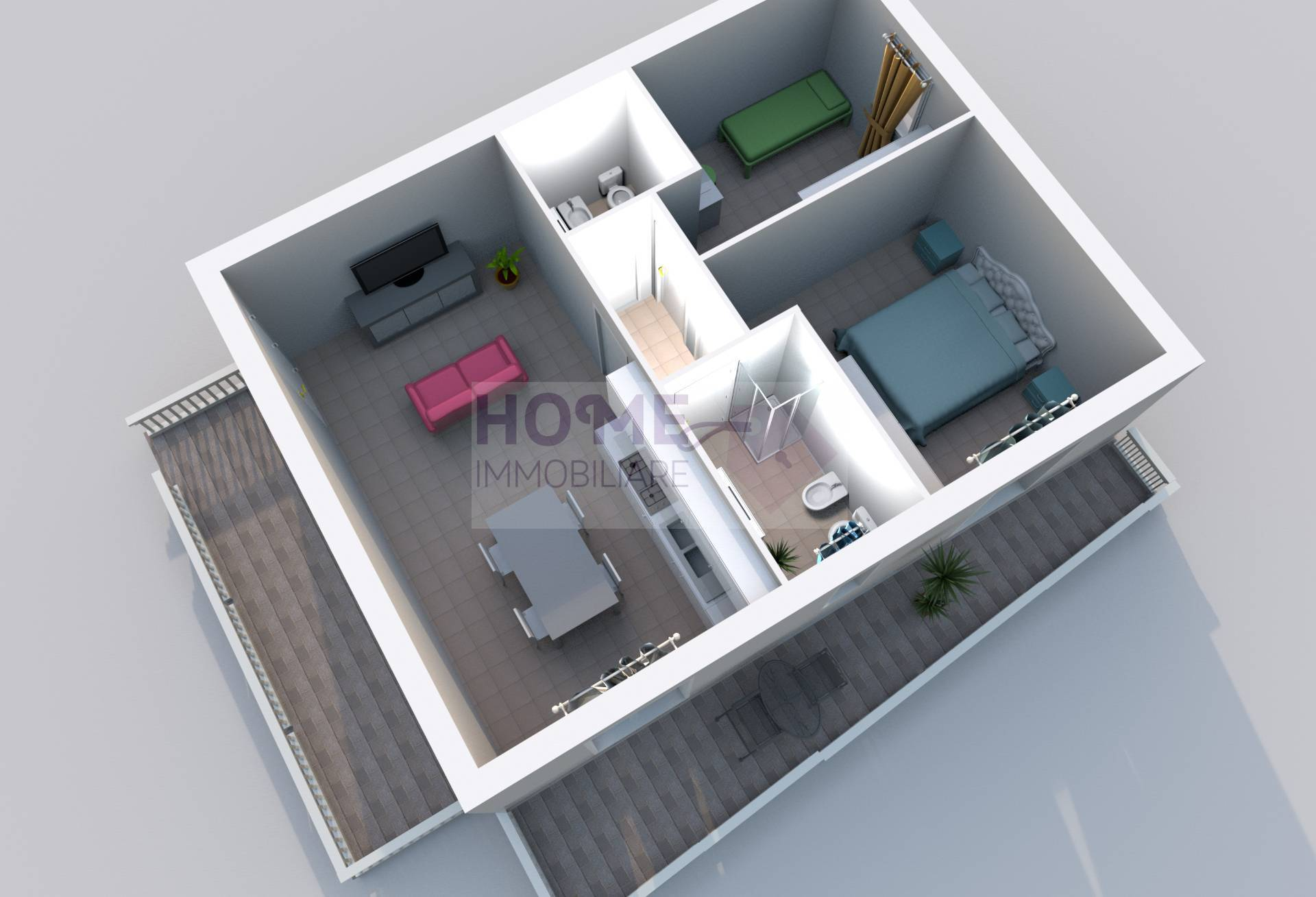 macerata vendita quart: zona collevario home-immobiliare-snc