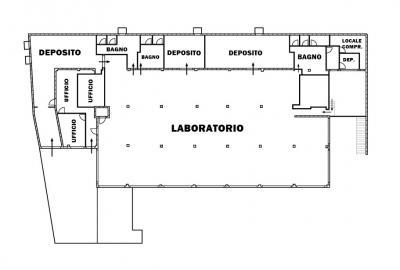 Locale commerciale in Affitto a Corridonia
