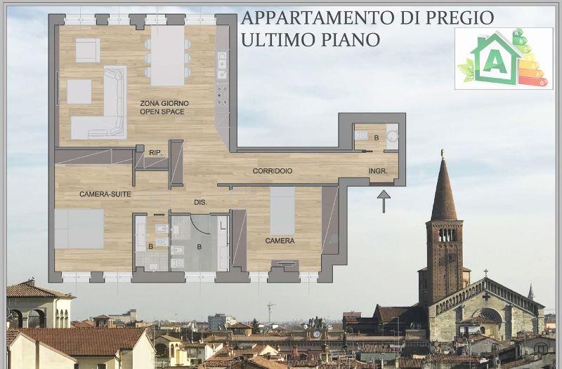 Attico / Mansarda in vendita a Piacenza, 3 locali, prezzo € 268.000 | Cambio Casa.it