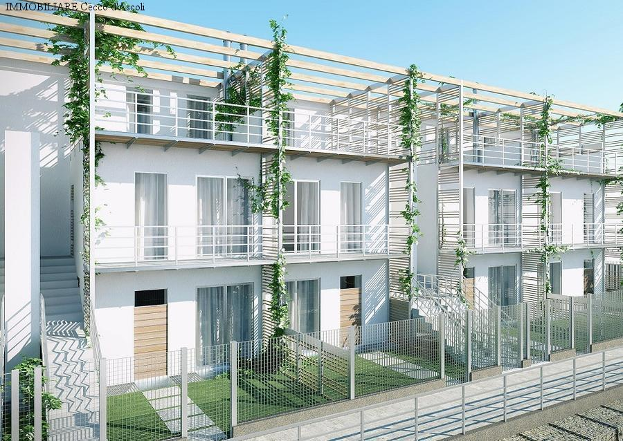 Villa a Schiera in vendita a Ascoli Piceno, 7 locali, Trattative riservate | Cambio Casa.it