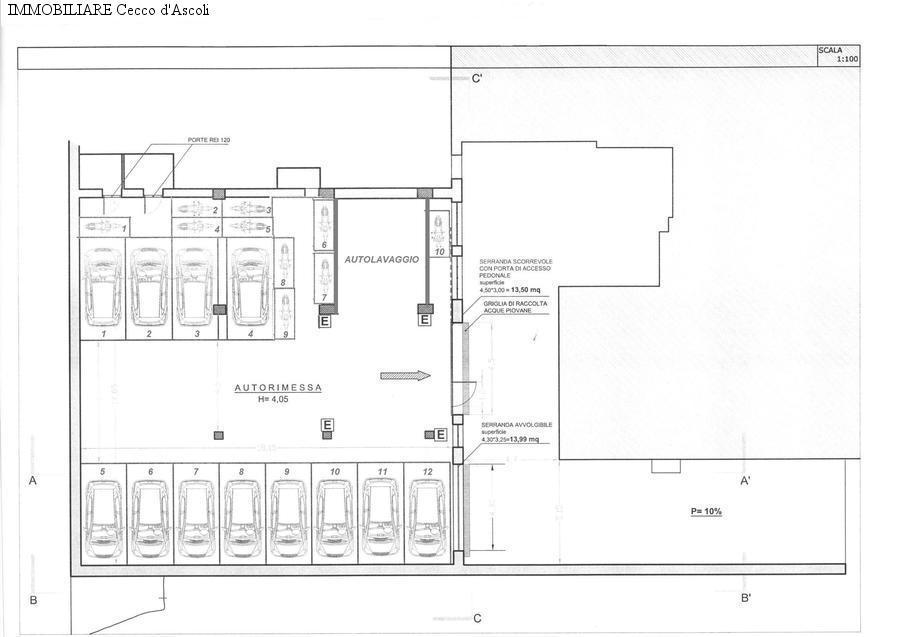 ascoli-piceno vendita quart: piazza immacolata immobiliare-cecco-d