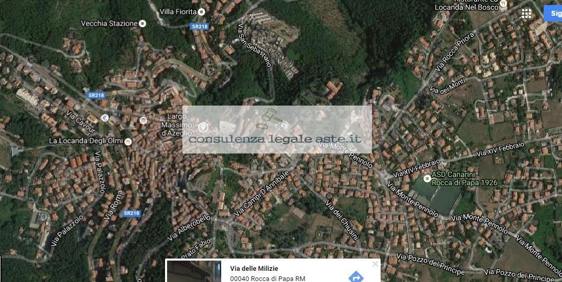 Bilocale Rocca di Papa Via Delle Milizie 6