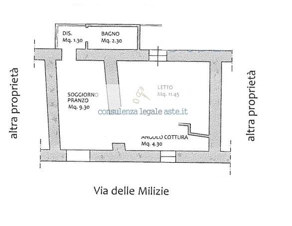 Bilocale Rocca di Papa Via Delle Milizie 3