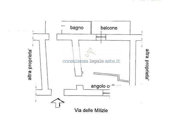 Bilocale Rocca di Papa Via Delle Milizie 4