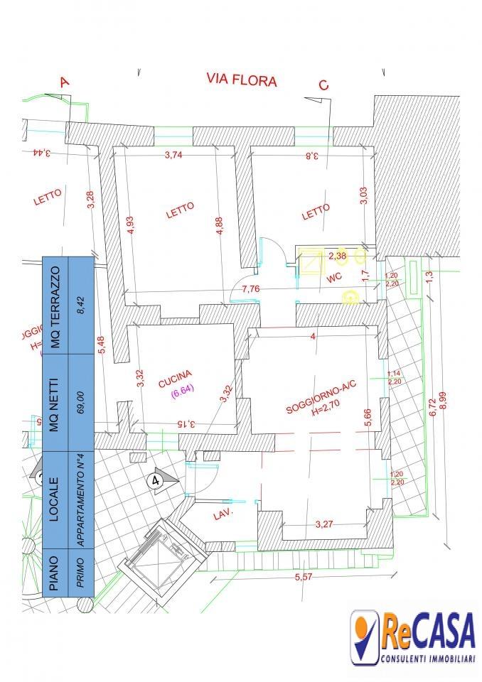 Appartamento in vendita a Montecorvino Rovella, 3 locali, zona Località: Centro, prezzo € 90.000 | Cambio Casa.it