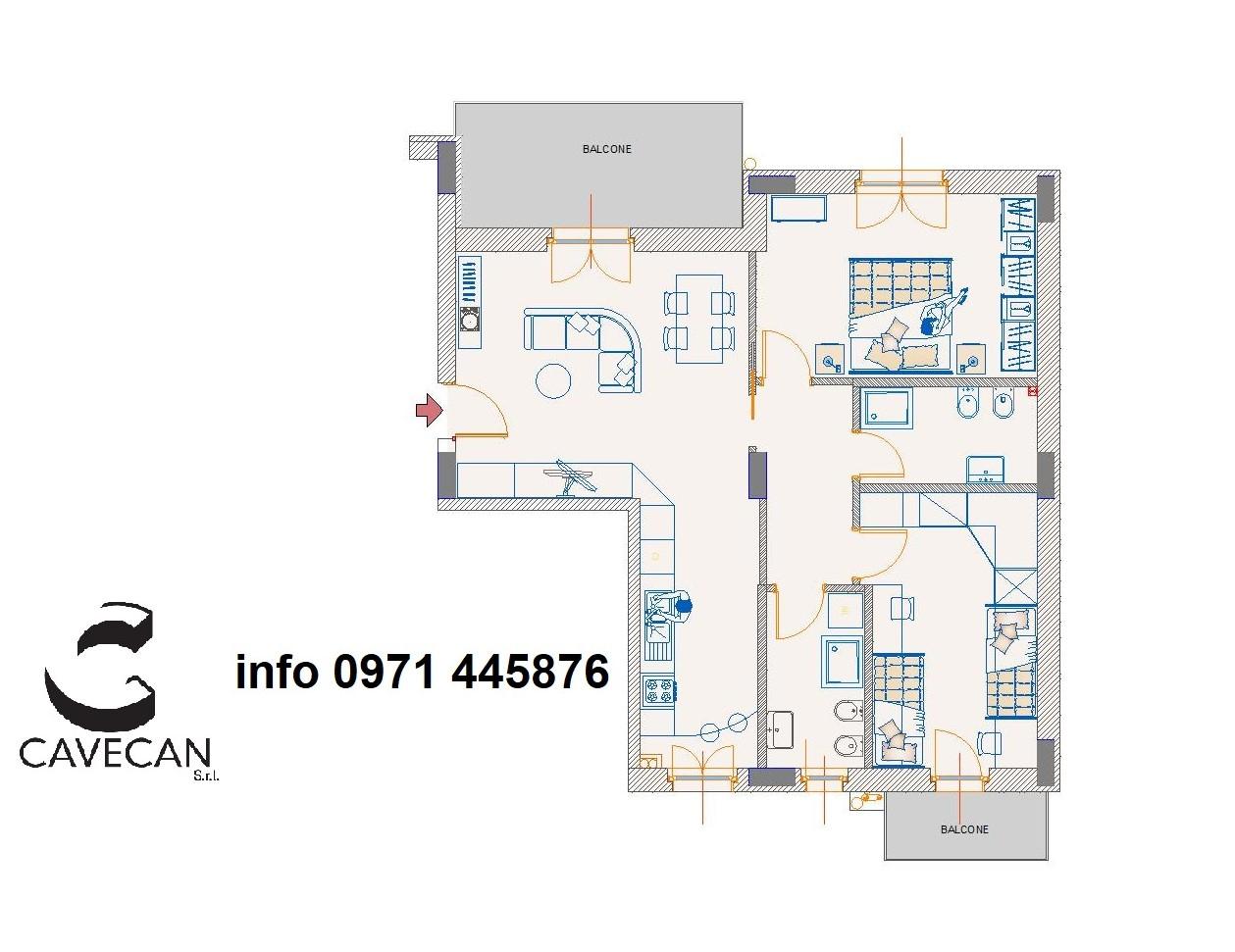 Appartamento, 108 Mq, Vendita - Potenza (Potenza)