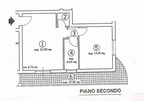 Bilocale Pisa Via Degli Olmi 6