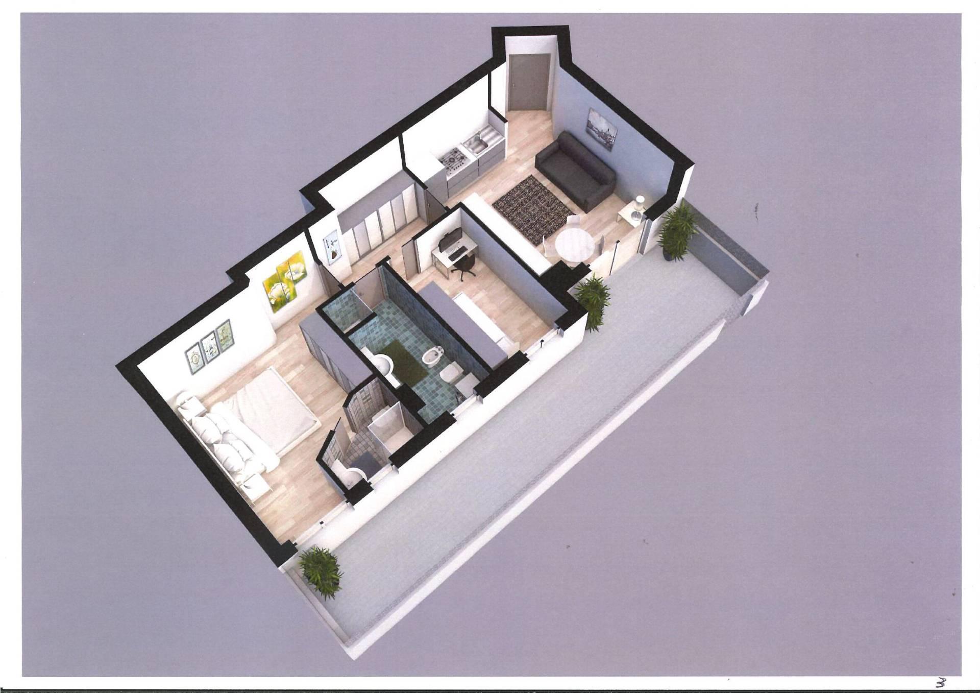 Appartamento in vendita a Alba Adriatica, 3 locali, zona Località: residenziale, prezzo € 165.000 | PortaleAgenzieImmobiliari.it