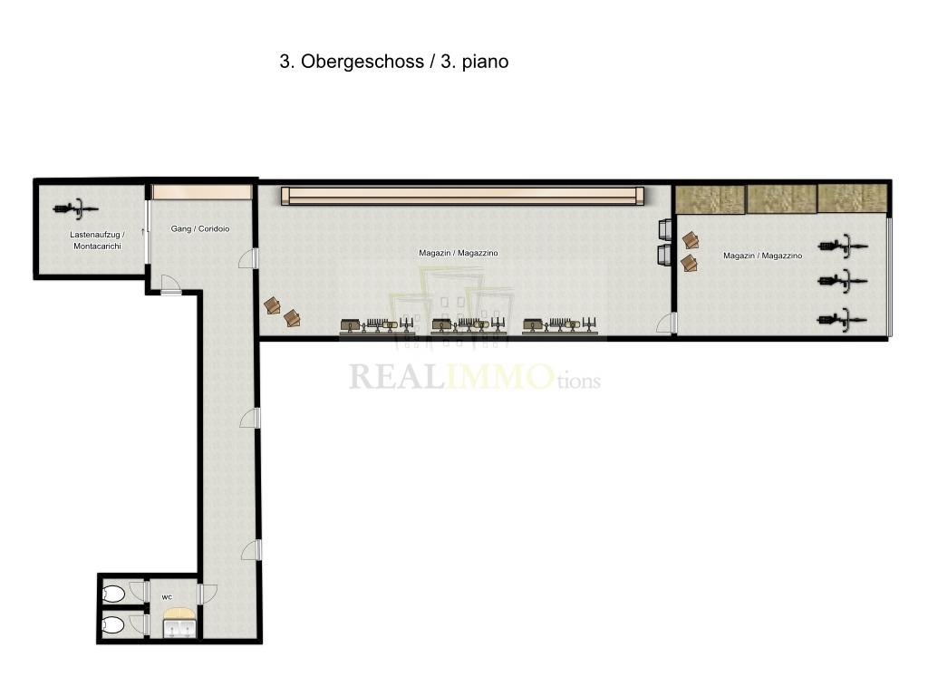 Magazzino in affitto a Bolzano, 9999 locali, zona Zona: Periferia, prezzo € 130.000 | Cambio Casa.it