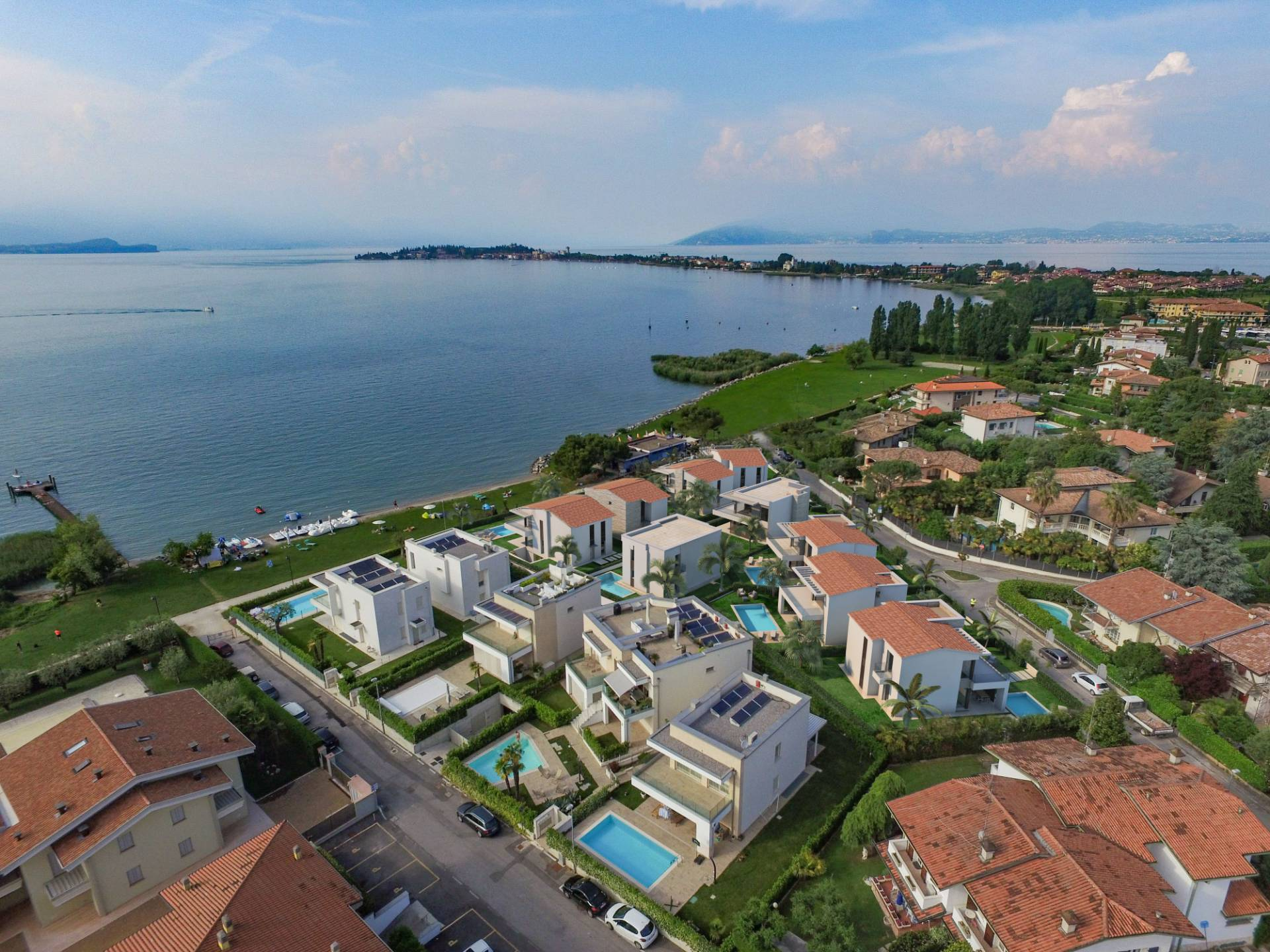 Complesso residenziale a Sirmione