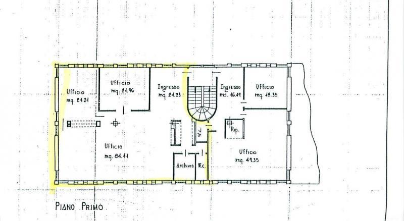 Ufficio / Studio in affitto a Preganziol, 9999 locali, zona Località: S.Trovaso, prezzo € 1.600 | CambioCasa.it