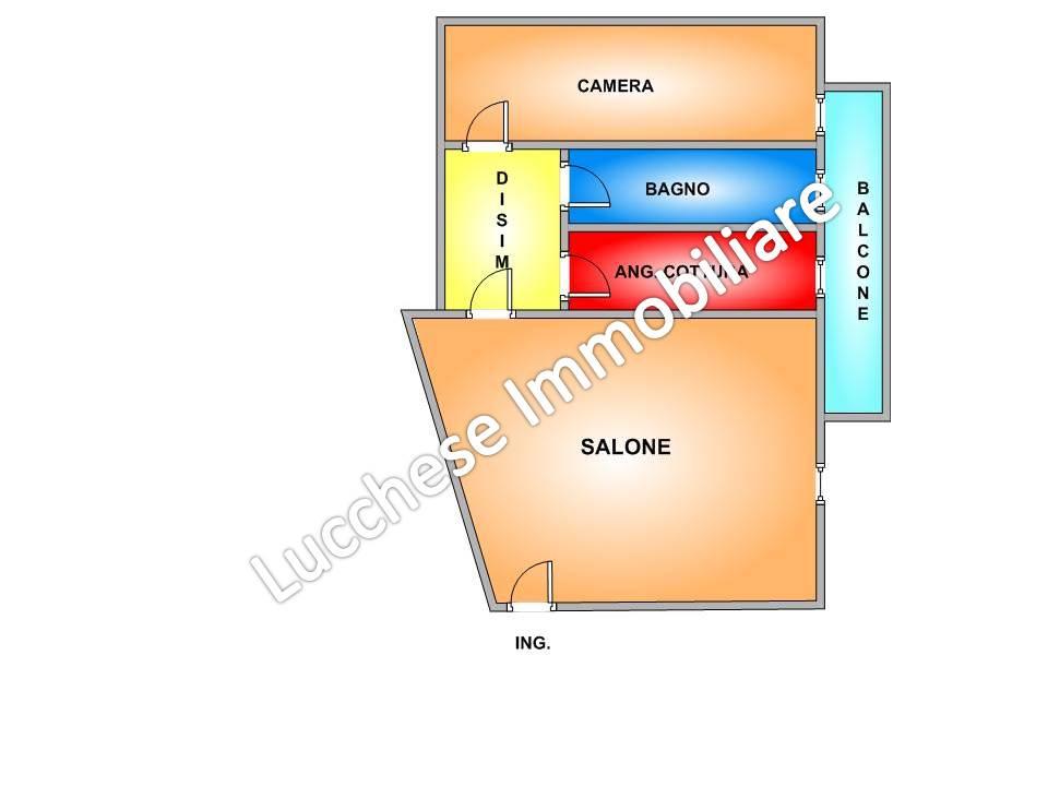 vendita appartamento napoli vomero alto  275000 euro  2 locali  55 mq