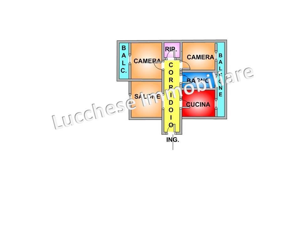 affitto appartamento napoli soccavo  725 euro  3 locali  95 mq