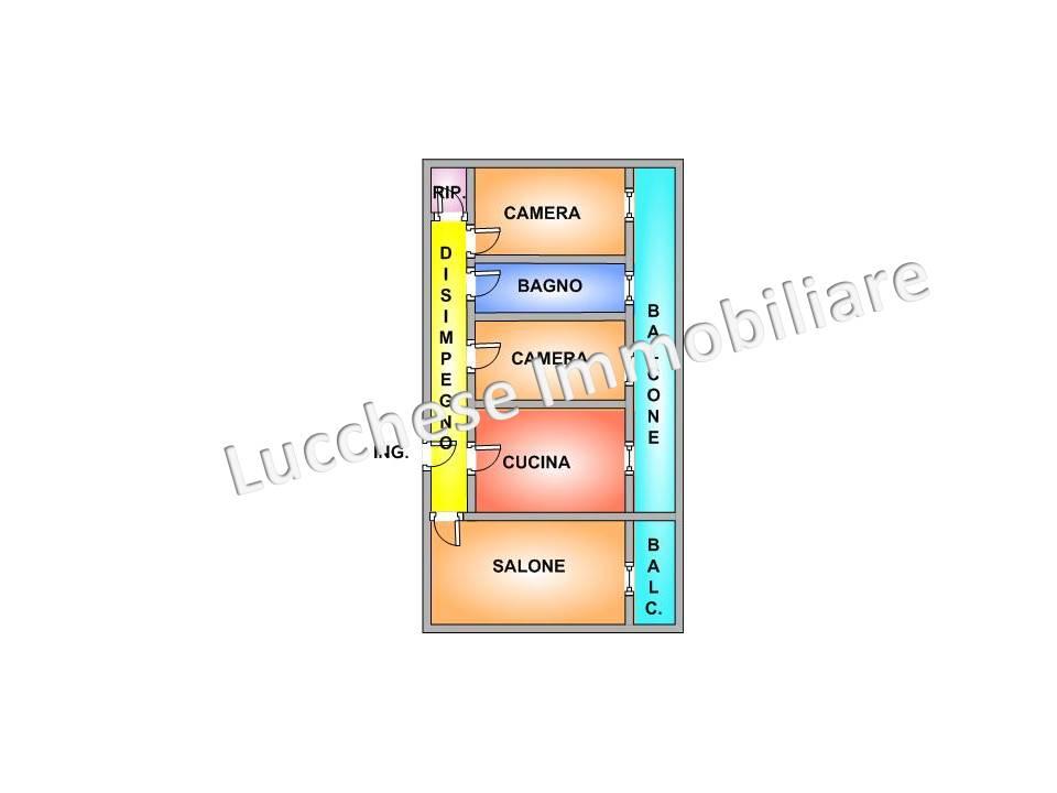 vendita appartamento napoli pianura  185000 euro  3 locali  120 mq