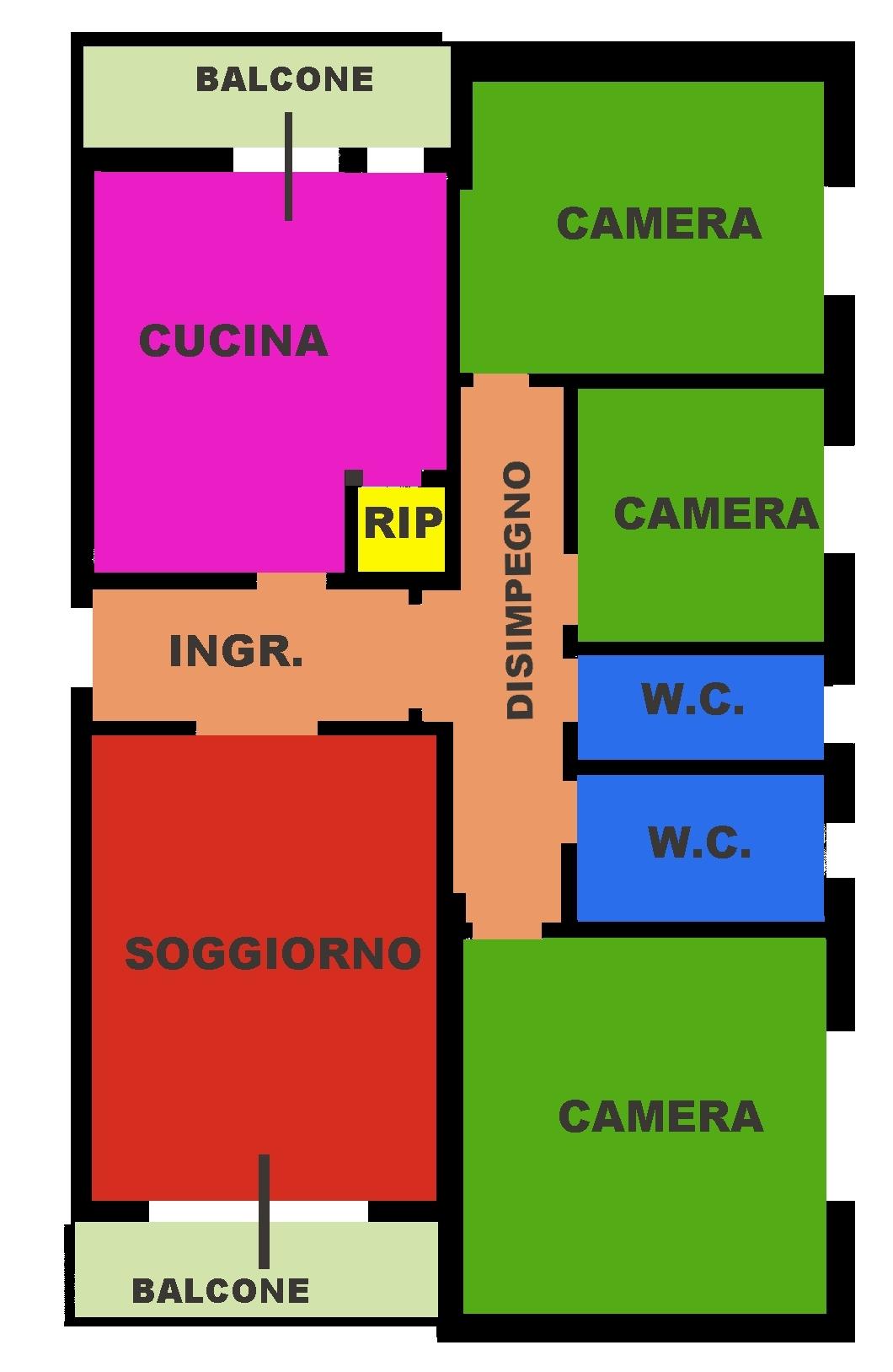 Appartamento in vendita, rif. 419
