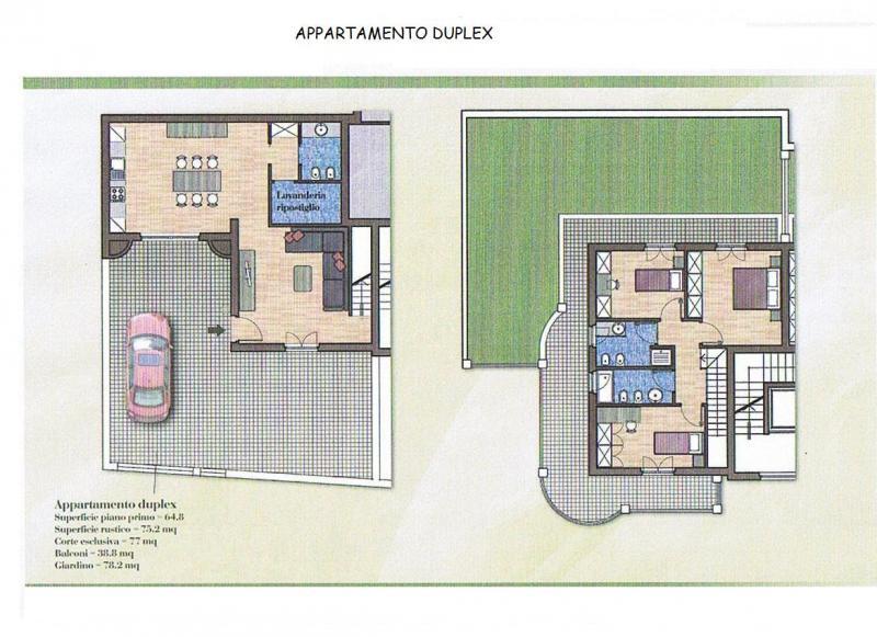 Appartamento in vendita a Acquaviva Picena, 5 locali, Trattative riservate | Cambio Casa.it