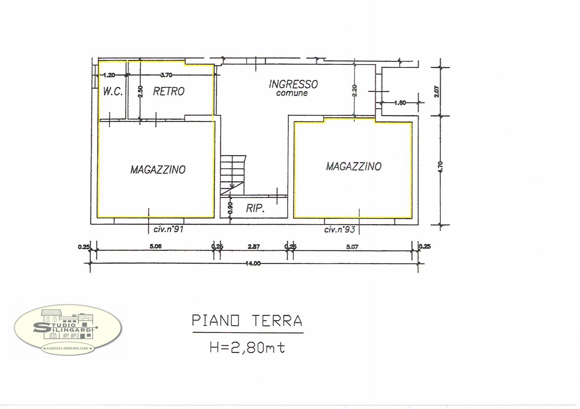 Magazzino in affitto a Modena, 9999 locali, zona Località: SanFaustino, prezzo € 400 | Cambio Casa.it