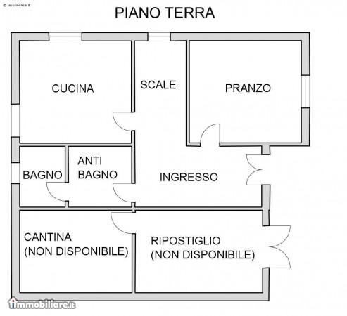 Soluzione Indipendente in affitto a Bagnacavallo, 8 locali, zona Zona: Masiera, prezzo € 550 | Cambio Casa.it