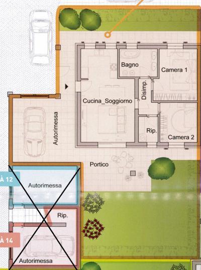 Villa Bifamiliare in Vendita a Gonars