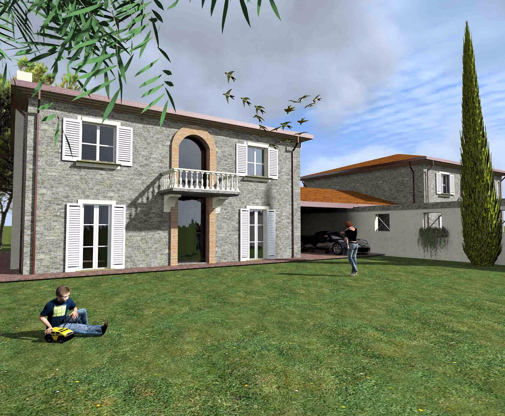 Rustico / Casale in vendita a Altopascio, 10 locali, zona Zona: Spianate, Trattative riservate | Cambio Casa.it