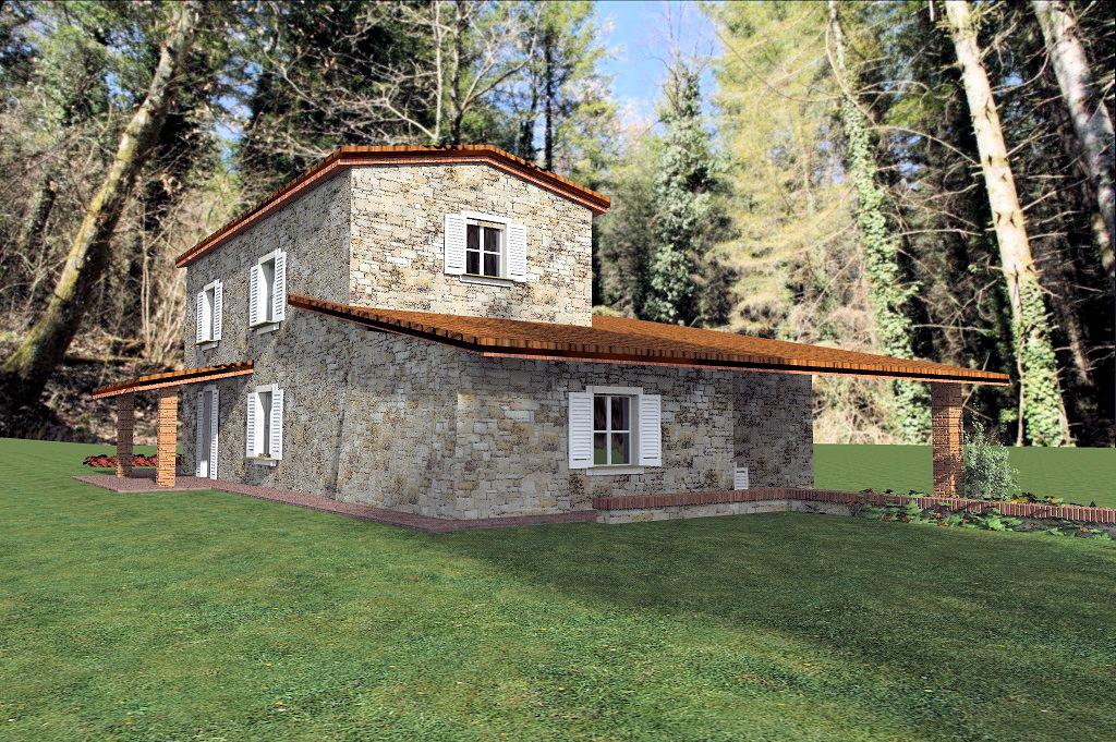 Rustico / Casale in vendita a Camporgiano, 10 locali, zona Zona: Casciana, prezzo € 95.000   Cambio Casa.it