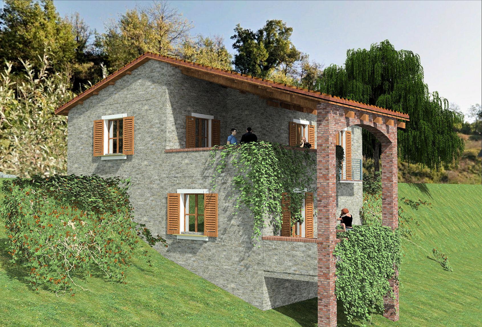 Rustico / Casale in vendita a San Romano in Garfagnana, 5 locali, prezzo € 90.000 | Cambio Casa.it