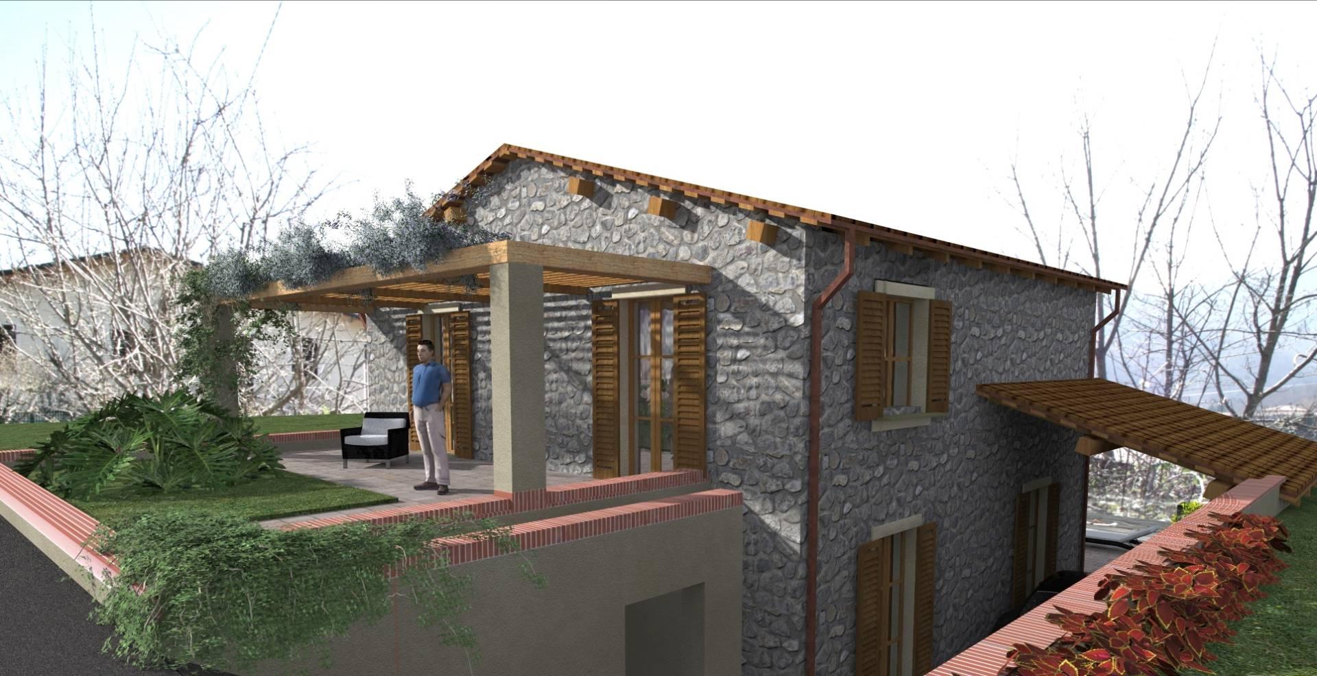 Rustico / Casale in vendita a Camporgiano, 8 locali, zona Zona: Casciana, prezzo € 60.000   Cambio Casa.it