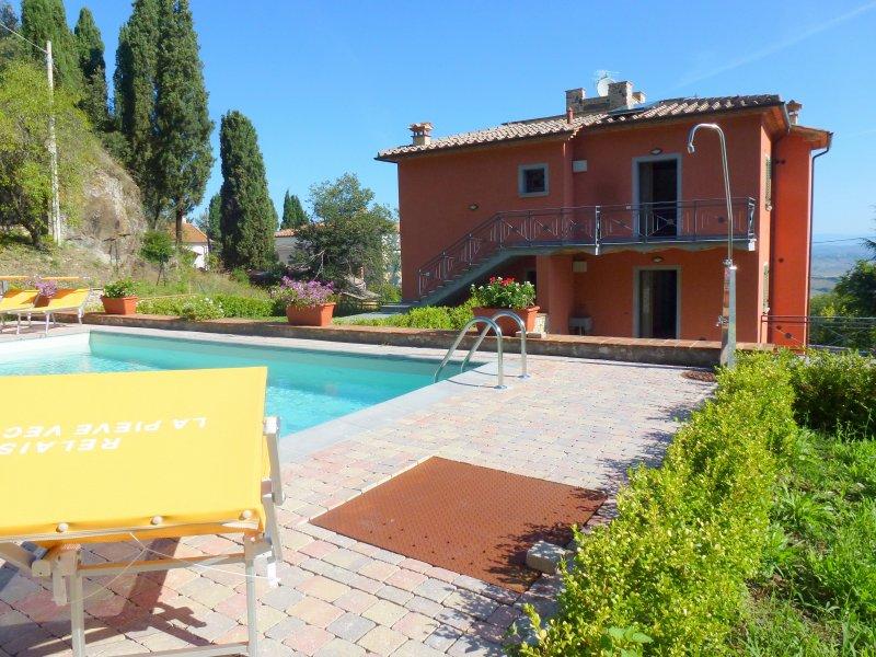 Appartamento in vendita a Lajatico, 2 locali, zona atico, prezzo € 135.000   PortaleAgenzieImmobiliari.it