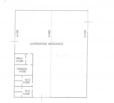 capannone industriale in Affitto/Vendita a Larino