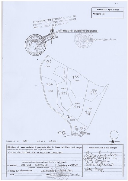 Terreno Agricolo in VENDITA a Rende