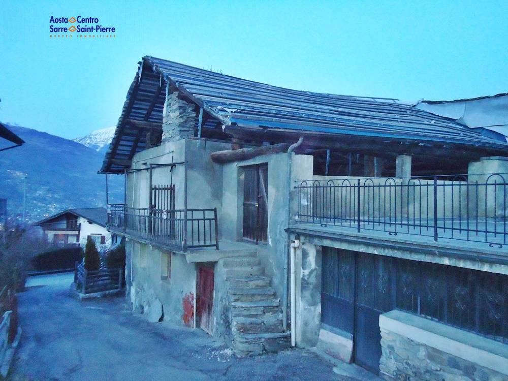 Rustico / Casale in vendita a Aymavilles, 2 locali, zona Località: Pompiod, prezzo € 90.000 | PortaleAgenzieImmobiliari.it