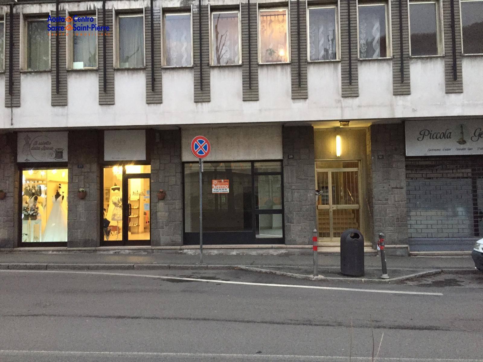 Negozio / Locale in affitto a Aosta, 9999 locali, zona centro, prezzo € 650 | PortaleAgenzieImmobiliari.it