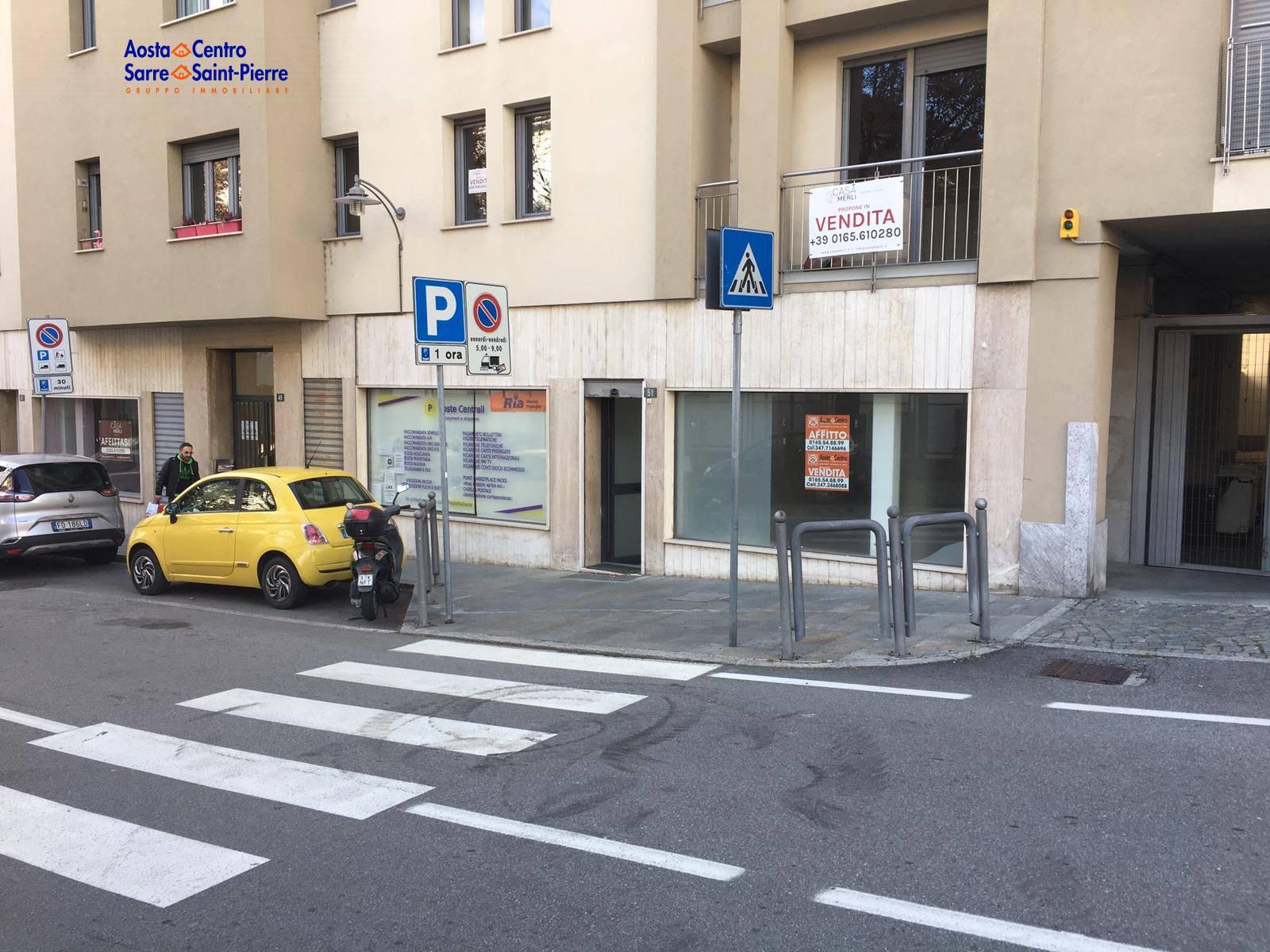 Negozio / Locale in affitto a Aosta, 9999 locali, zona centro, prezzo € 120.000 | PortaleAgenzieImmobiliari.it