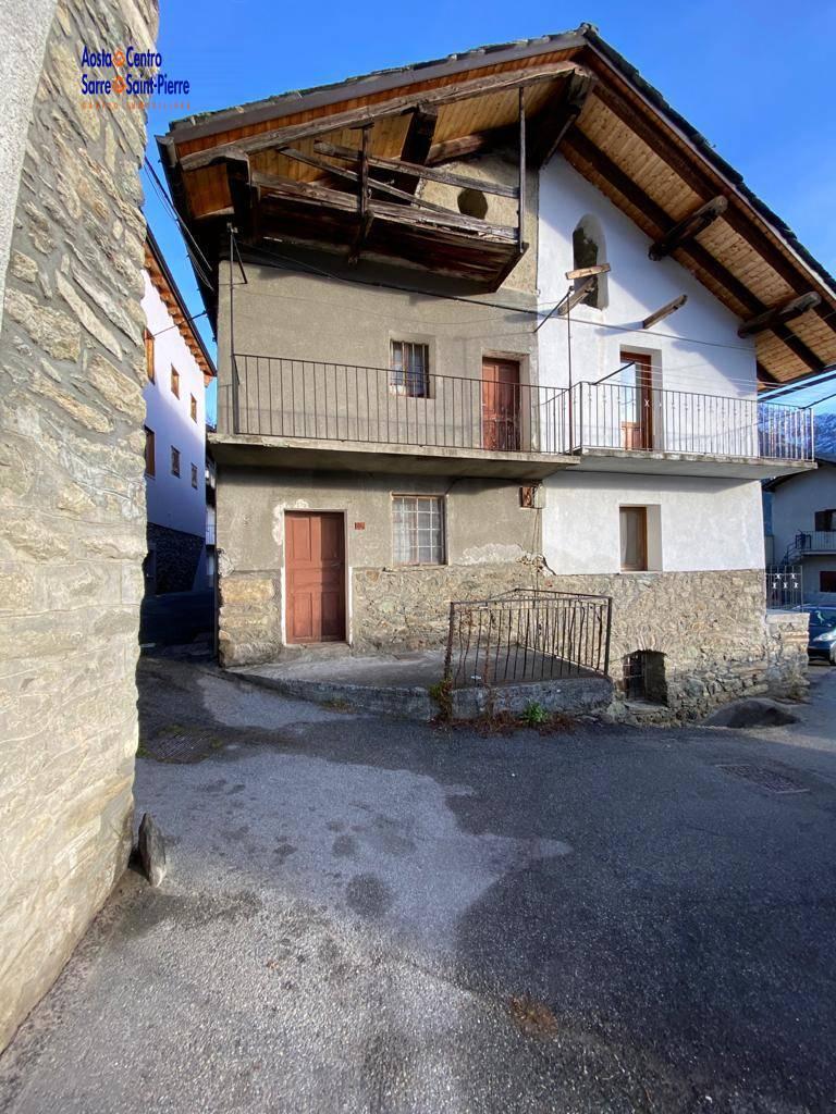 Rustico / Casale in vendita a Gignod, 2 locali, prezzo € 37.000 | PortaleAgenzieImmobiliari.it