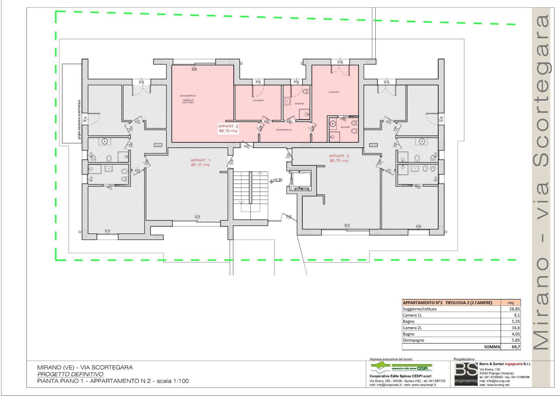 Appartamento in vendita a Mirano, 4 locali, prezzo € 240.000 | CambioCasa.it