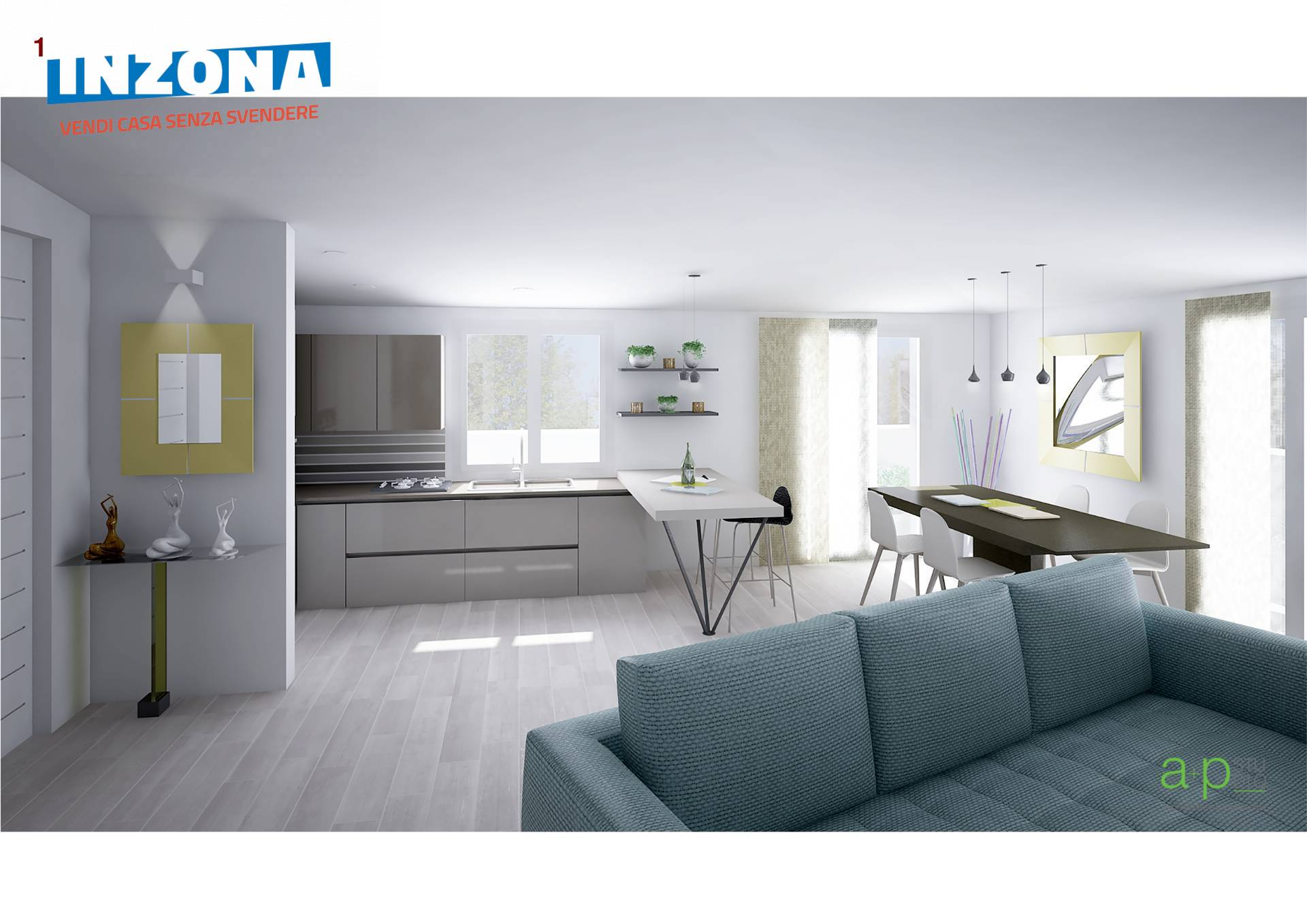 Appartamento in vendita a Castellalto, 4 locali, zona Zona: Casemolino, prezzo € 37.000   CambioCasa.it