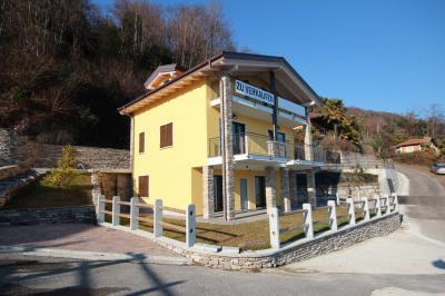 Oggebbio, Appartamento con Vista Lago Giardino e  Posto auto in Vendita