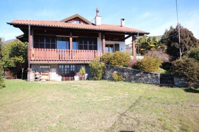 Ghiffa, Casa Indipendente con Terrazza, Vista Lago e Giardino in Vendita