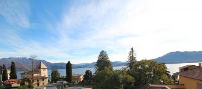 Cannero Riviera, Spazioso appartamento con Balcone e vista lago, ottima esposizione in Vendita