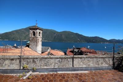 Cannobio, Monastero, 4-Zi-WoDuplex mit Seeblick, 50 mt von der Seepromenade, Erstbesitz zu verkaufen