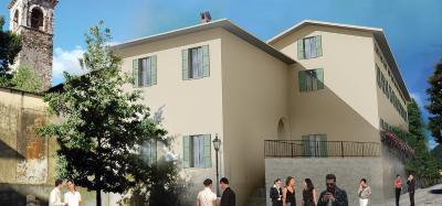 Cannobio, Monastero, 3-Zi-Wo mit Seeblick und Balkon, 50 mt von der Seepromenade, Erstbesitz zu verkaufen
