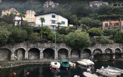 Cannero Riviera, Schöne Villa mit herlichem Seeblick zu verkaufen