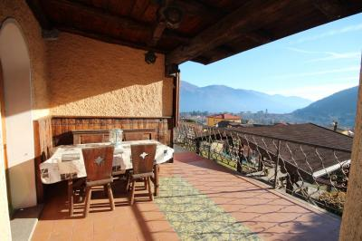 Cannobio, Apartment with terrace  Lake view garden parking at Sale