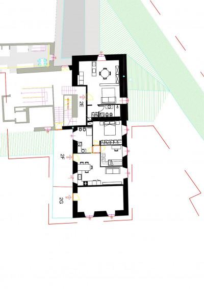 Cannobio, Monastero, 3-Zi-Wo mit Balkon, 50 mt von der Seepromenade, Erstbesitz zu verkaufen