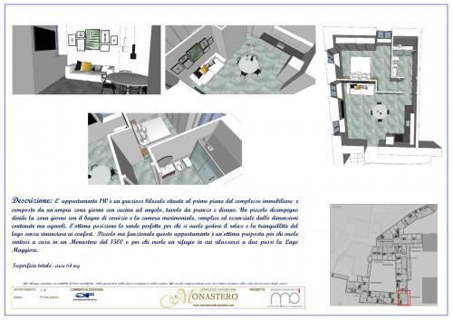 Cannobio, appartamento zona centrale in storico palazzo in Vendita
