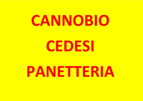 Cannobio, Gewerbe zu verkaufen