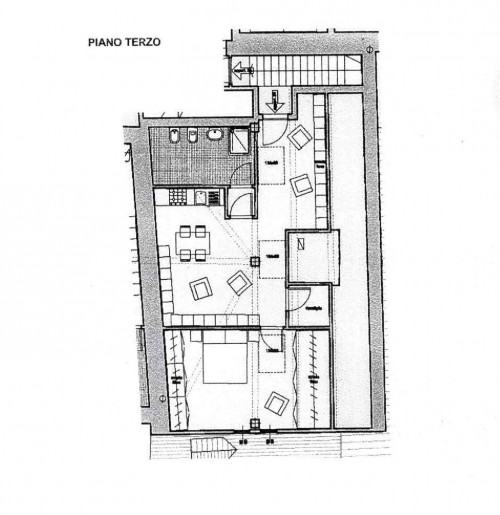 Cannobio, new two-room-flat duplex with lake view downtown 50 mt from the lake at Sale