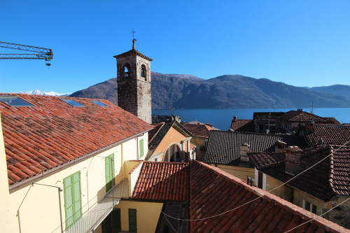 Cannobio, new and big one-room-flat with lake view downtown 50 mt from the lake at Sale