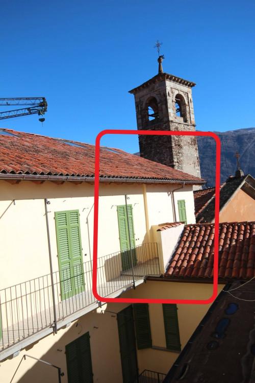 Cannobio, Monastero, 4-Zi-WoDuplex mit Balkon und Seeblick, 50 mt von der Seepromenade, Erstbesitzer zu verkaufen