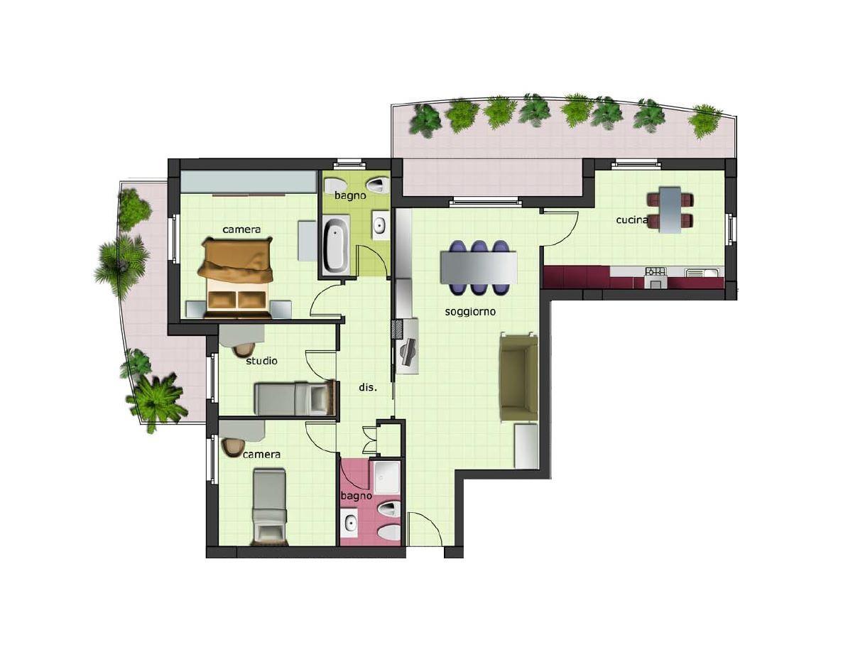 Appartamento in vendita a Spinetoli, 5 locali, zona Zona: Pagliare, Trattative riservate | Cambio Casa.it